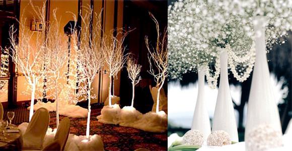 Γάμος με θέμα το χιόνι