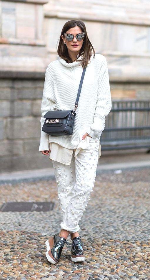 10+1 τρόποι για να φορέσεις με στυλ τα πλεκτά σου πουλόβερ το ... b0002d2534a