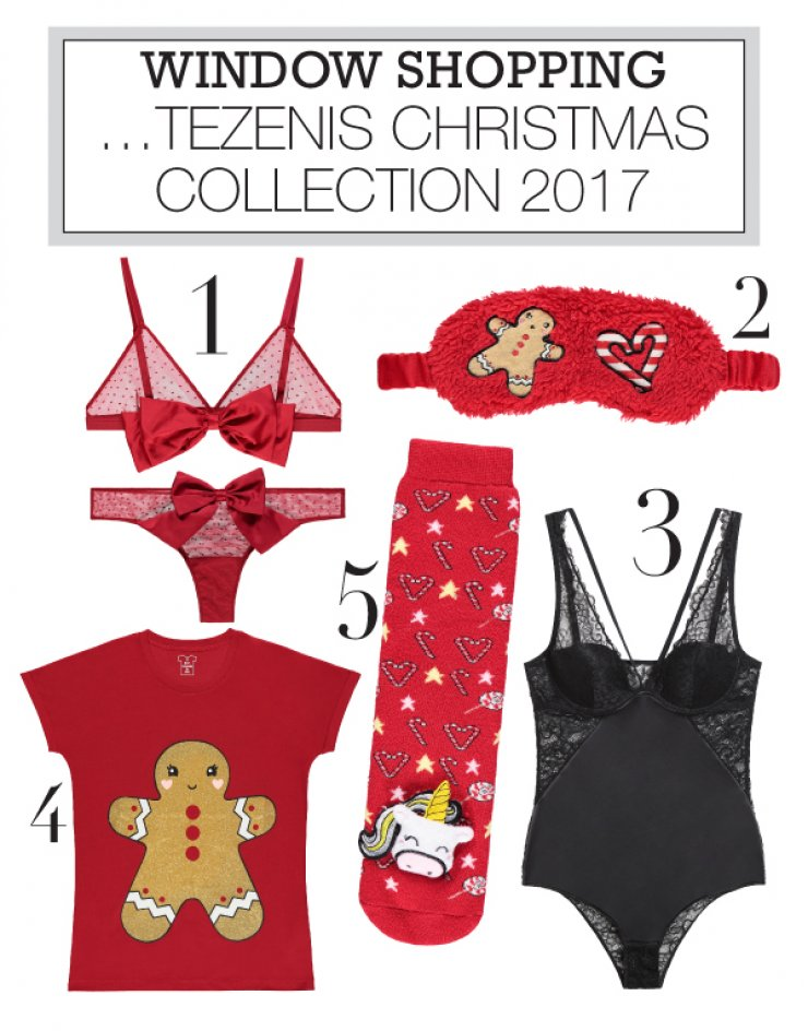 6bb8dfef964 TEZENIS CHRISTMAS COLLECTION 2017 | Ι LOVE STYLE